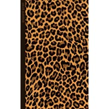 Leopard Print: Gifts / Gift / Presents ( Leopard Skin / Fur - Ruled Notebook ) [ Animal Print Stationery / Accessories ]