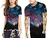 Azuki Classic Galaxy T Shirts Couples Outfits Crewneck Shirts M