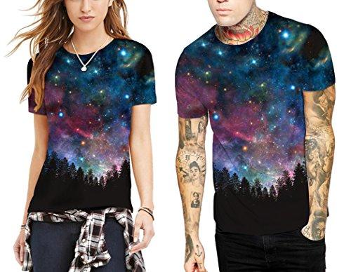 Azuki Classic Galaxy T Shirts Couples Outfits Crewneck Shirts M by Azuki