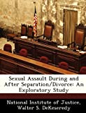 Sexual Assault During and after Separation/Divorce, Walter S. DeKeseredy, 124959829X
