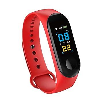 Konesky Fitness Tracker Monitor de Ritmo cardíaco Pulsera de presión Arterial Actividad Reloj Podómetro Contador de calorías Pulsera para Android iOS ...