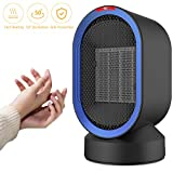 Ceramic Space Heater, SENDOWTEK PTC Ceramic Oscillating Personal Heater with Adjustable Modes Auto Shut-Off/Overheat Protection for Office/Home/Indoor