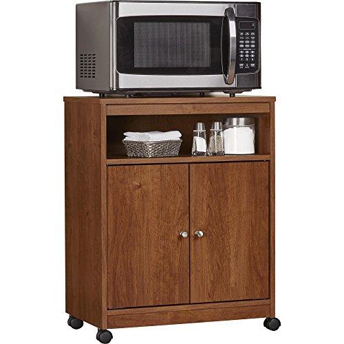 Ameriwood Home Landry Microwave Cart, Brown Oak by Ameriwood Home (Image #2)