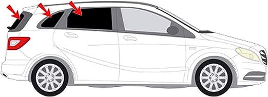 Solarplexius Sonnenschutz Autosonnenschutz Scheibentönung Sonnenschutzfolie Mercedes B W246 Bj 11 18 Auto