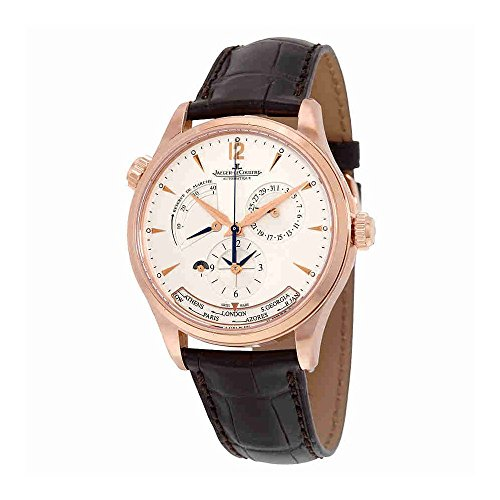a6f63f65538 Jaeger LeCoultre Master Control Geographic Automatic Silver Dial 18kt Pink  Gold Mens Watch Q1422521 - Pricy Watches