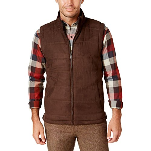 Quilted Faux Suede Vest - 4