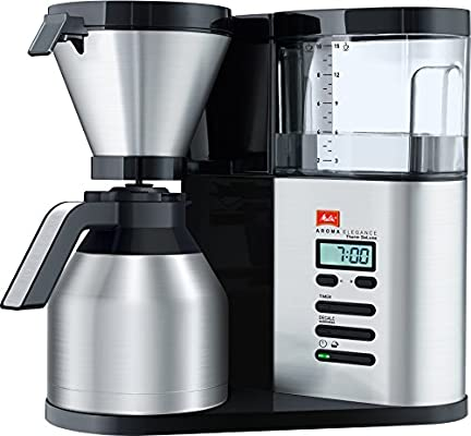 Melitta Elegance Therm Deluxe 1012-06, Cafetera Goteo, Programable ...