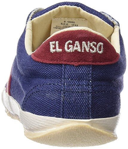 El Ganso Men Match Washed Classic Ribbon Fitness Shoes Blue (Marino 003)