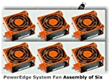 Dell PowerEdge Hot-plug System Cooling Fan - Set of Six. Genuine Dell Product, Validated on PowerEdge 2900 and 1900 Servers.