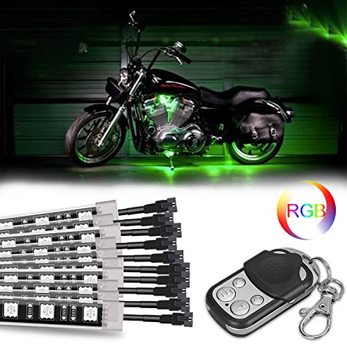 - PROAUTO 10 by Sequential RGB Motorcycle LED Light Kit for Harley Davidson Honda Suzuki Aprilia BMW Ducati Indian Kawasaki KTM Triumph