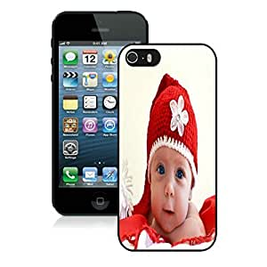 Popular Design Iphone 5S Protective Cover Case Christmas Baby iPhone 5 5S TPU Case 1 Black