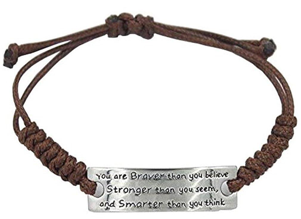 Beydodo Pride Bracelet Rubber Mens Bracelets Stainless Steel 8 in Black Metal Bar Engraved Prade