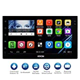 EinCar 7'' HD Touch Screen 2Din Android Car Navigation Radio - Quad Core Car Entertainment Mulitmedia w/ FM/AM Radio,WIFI,BT,Mirror Link,and External Mic (No DVD Player)