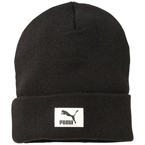 PUMA Mütze Style Beanie, Black, OSFA, 834017 01