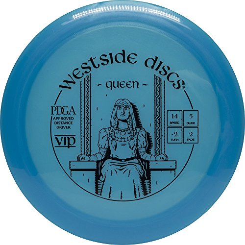 (Westside Discs VIP Queen Distance Driver Golf Disc [Colors may vary] - 173-176g)