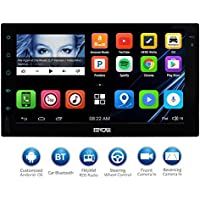 EinCar 7 HD Touch Screen 2Din Android Car Navigation Radio - Quad Core Car Entertainment Mulitmedia w/ FM/AM Radio,WIFI,BT,Mirror Link,and External Mic (No DVD Player)