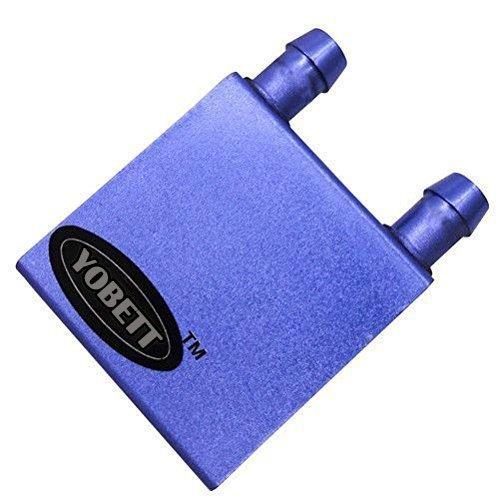 Yobett Aluminum Water Cooling Blocks for Cpu Heatsink Cooler Plater 41 x 41 X 12mm