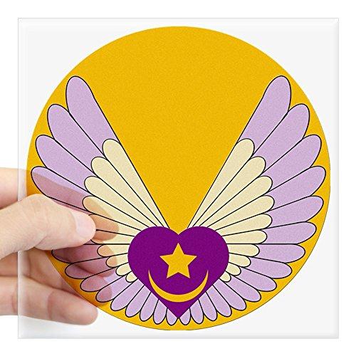 (CafePress Sufi Heart Square Sticker 3