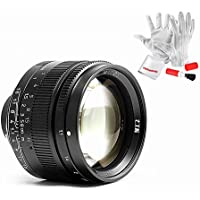 7artisans 50mm F1.1 Fixed Lens for Leica M Mount Cameras Like Leica M4P M6 M7 M8 M9 M9p M10 M240 M240P Me M262 M-M - Black