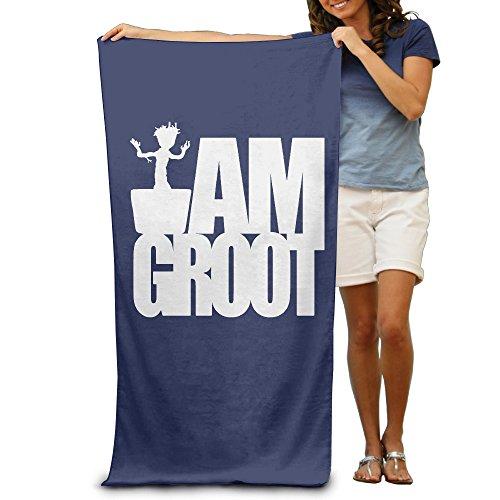 LCYC Groot-I AM Groot Adult High Quality Beach Or Pool Bath Towel 80cm*130cm