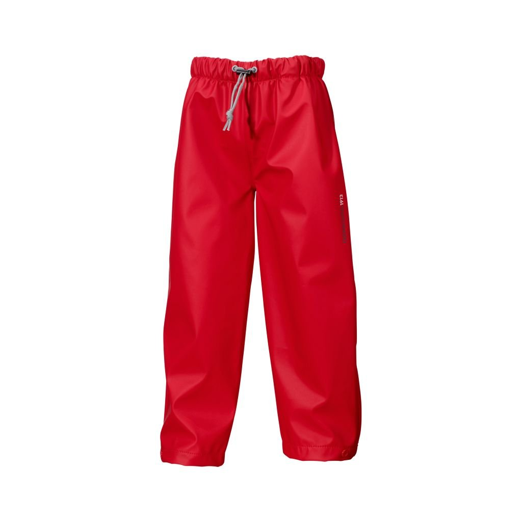 Didriksons Midjeman Kids Waterproof Trousers - Red