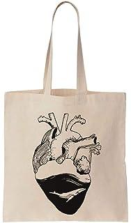 ee224d955 LaMAGLIERIA Bolsa de Tela Mandala White Print Man01 - Tote Bag ...