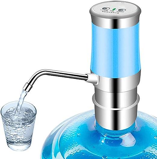 ERMEI Cubo de Bombeo de Agua con Botella purificador de Agua Pura Agua Mineral Agua Calentador automático de Agua Absorbente de Agua hogar, Azul: Amazon.es: Jardín