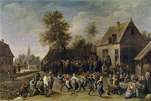 [The Perfect Effect Canvas Of Oil Painting 'Teniers David Fiesta Campestre 1647 ' ,size: 12 X 18 Inch / 30 X 45 Cm ,this High Resolution Art Decorative Canvas Prints Is Fit For Gym Decoration And Home Gallery Art And] (Dead Poets Society Costume)