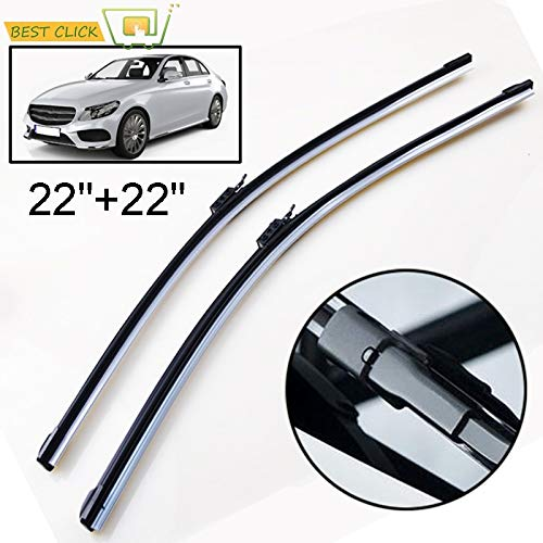Wipers Hukcus 2Pcs/set Windscreen Wiper Blades For Mercedes-Benz C-Class W205 2015-2019 C180 C200 C250 C300 C350 C400 C450 C43 C63 C220