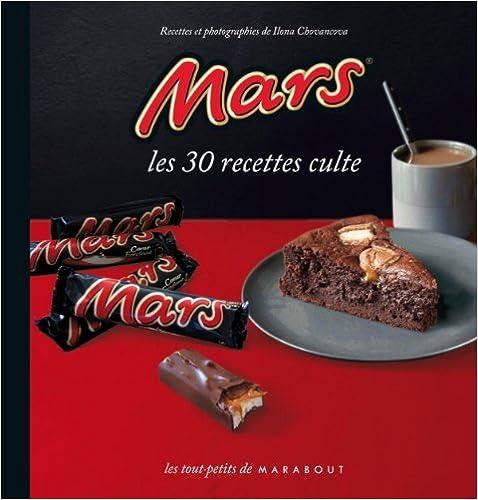 Mars - les 30 recettes culte - marabout