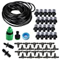 "Koram Easy Set 1/4"" Blank Distribution Tubing Irrigation Gardener's Greenhouse Plant Watering Atomizing Nozzle Mister Drip Kit Accessories Cooling Suite IR-G"