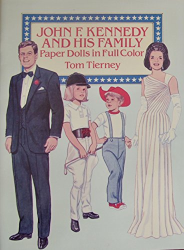 Temple Shirley Costume Baby (Tom Tierney JOHN F. KENNEDY and His FAMILY PAPER DOLLS Book (UNCUT) in Full COLOR w 6 Card Stock DOLLS and 34 Card Stock COSTUMES)