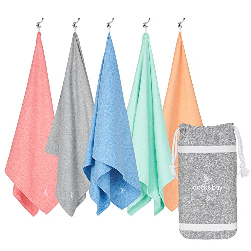Microfiber Towel - Yoga, Sports & Fitness (Grey - Extra Large 78x35