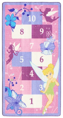 Gertmenian Disney Fairies Hopscotch Rug