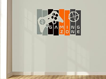 Amazon.com Design Divils Customisable Cool Gamer Wall Art Panel Controller Decal. Home u0026 Kitchen  sc 1 st  Amazon.com & Amazon.com: Design Divils Customisable Cool Gamer Wall Art Panel ...