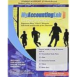 MyAccountingLab with Pearson eText -- Access Card