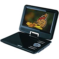 Sylvania 9-Inch Portable DVD Player SDVD9000B2, Black
