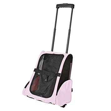 Amazon Com Light Pink Airline Approved Travel Pet Backpack
