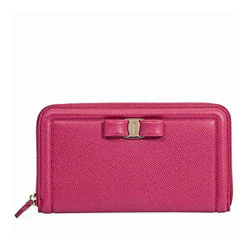 e4458368e710e Salvatore Ferragamo Damen Geldbörse Portemonnaie Echtleder Geldbeutel  Bifold Org  Amazon.de  Schuhe   Handtaschen