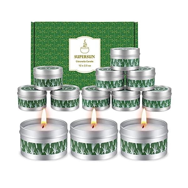 51cZ2op40dS 12 Stück Duftkerze Zitrusfrüchten Lemon, Geschenkset Frauen Schöne Kerzen Duftkerzen Set Weihnachten Geschenkset für…