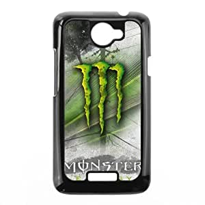 DIY Stylish Printing Monster Energy Cover Custom Case For HTC One X MK1Q972193