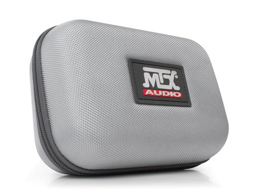 MTX Audio IX1-Red Street Audio On Ear Acoustic Monitors - Red by MTX (Image #4)