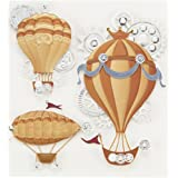 Jolee's Boutique Steampunk Flying Machines Dimensional Stickers