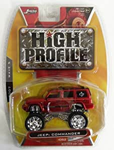 Jada 'High Profile' Series Jeep Commander Die Cast Collectible