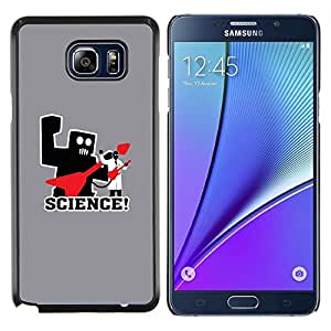 Stuss Case / Funda Carcasa protectora - Science Rocks Rules - Funny - Samsung Galaxy Note 5 5th N9200