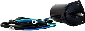 Rareelectrical TILT TRIM MOTOR COMPATIBLE WITH YAMAHA 40TLRC 50TLRC F50TLRC T50TLRC 40TLR 50TLR 50TLRD 50TLRC