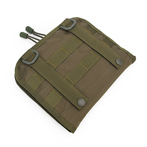 Oarea MOLLE Tactical Small First Aid Kit EMT EDC Pouch - Utility Survival Tool Belt Pouch Bag (Green) Medical Pocket Organiser for Outdoor Travel Hiking Camping by Oarea
