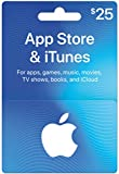 #8: App Store & iTunes Gift Cards $25 - Design May Vary