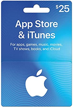 App Store & iTunes Gift Cards $25 - Design May Vary