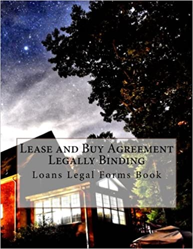 Lease And Buy Agreement Legally Binding Loans Legal Forms Book - Where can i buy legal forms